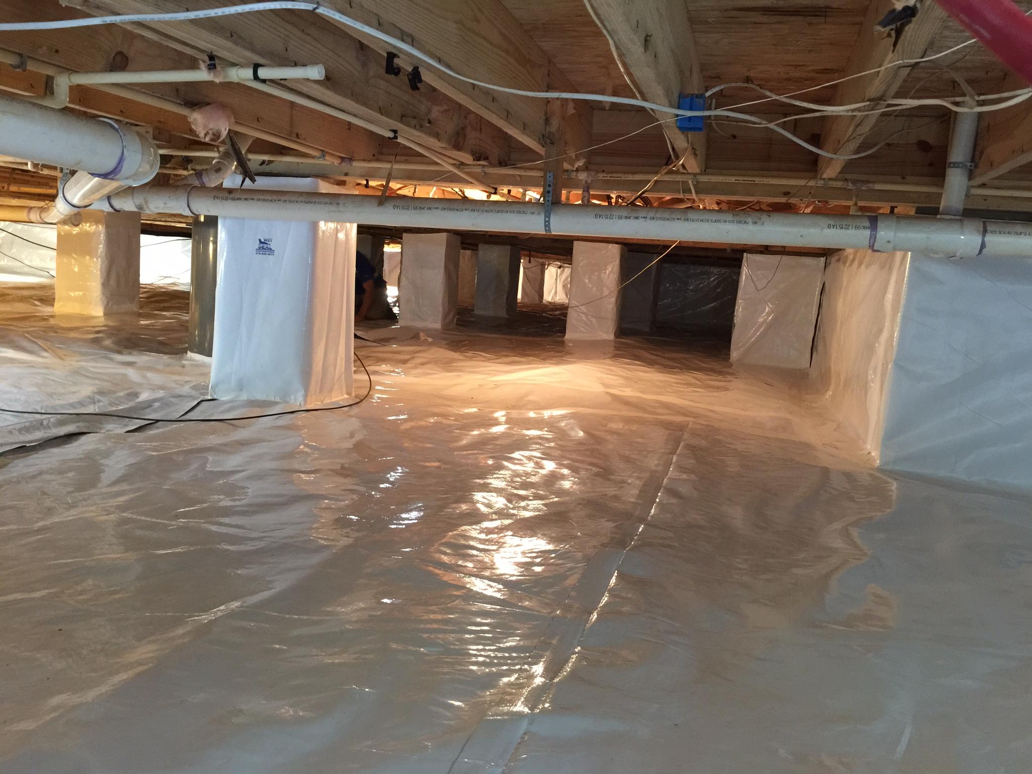 Crawl Space Waterproofing | Downers Grove, IL | Everdry Waterproofing Illinois