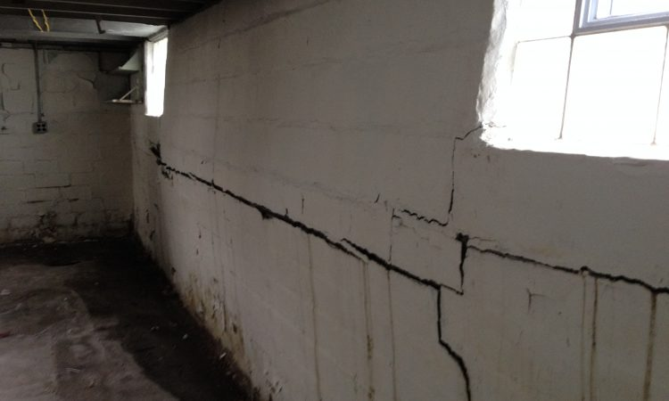 Bowed Basement Walls | Napeville, IL | Everdry Waterproofing Illinois