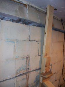 Bowed Basement Walls | Napeville, IL | Everdry Waterproofing Illinois
